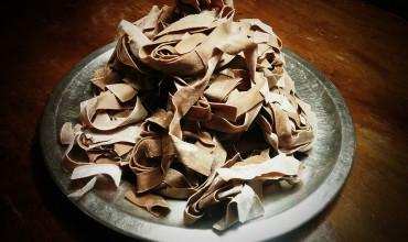 Pappardelle al Cacao